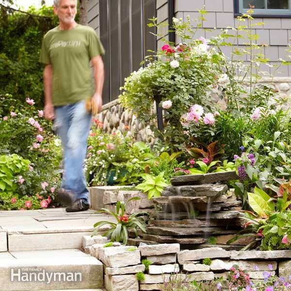 Best ideas about DIY Backyard Waterfall . Save or Pin DIY Garden Waterfalls Now.