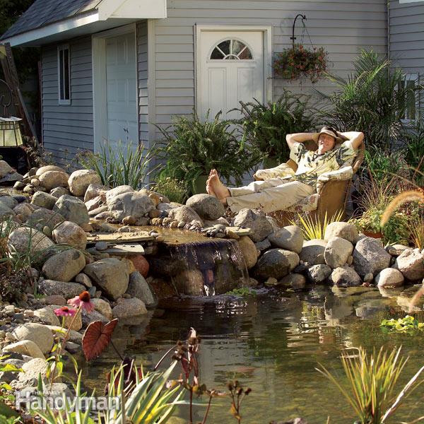 Best ideas about DIY Backyard Waterfall . Save or Pin Build a Backyard Pond and Waterfall Now.