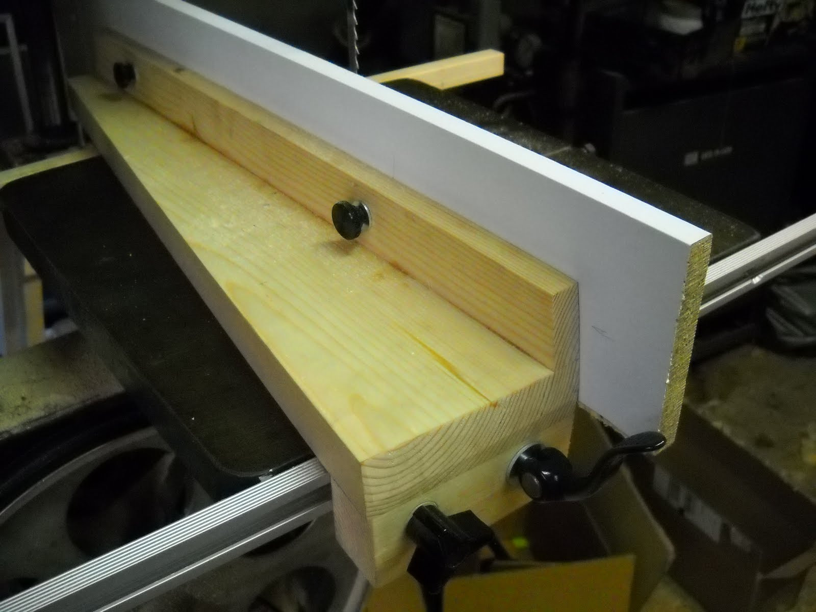 Best ideas about DIY Bandsaw Fence . Save or Pin The Woodshop Bug Homemade Bandsaw Fence Now.