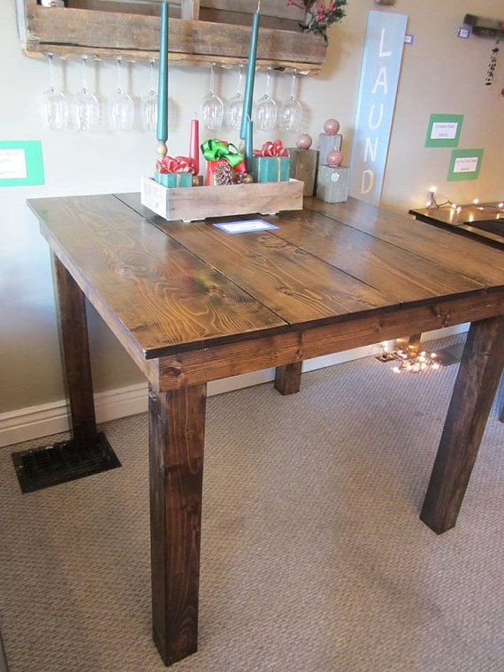 Best ideas about DIY Bar Height Table . Save or Pin 25 best ideas about Counter Height Table on Pinterest Now.