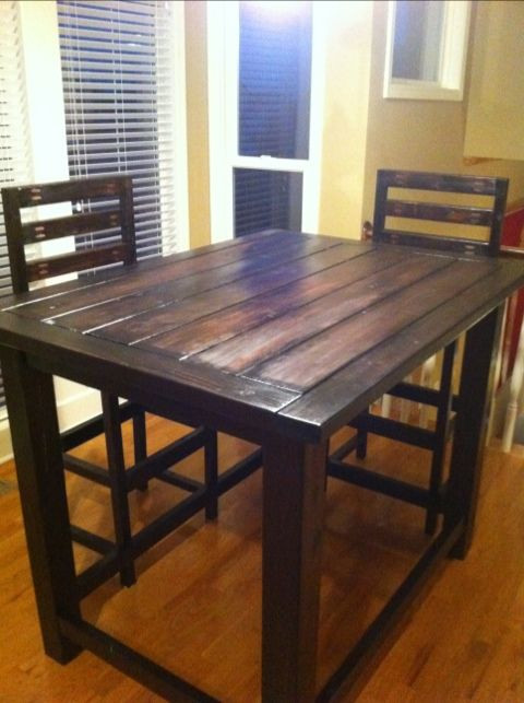 Best ideas about DIY Bar Height Table . Save or Pin Counter Height Table on Pinterest Now.