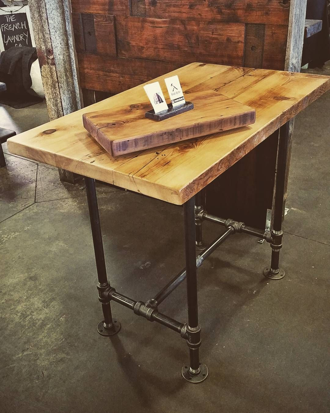 Best ideas about DIY Bar Height Table . Save or Pin jillyswood adjustable condo harvest table or kitchen Now.