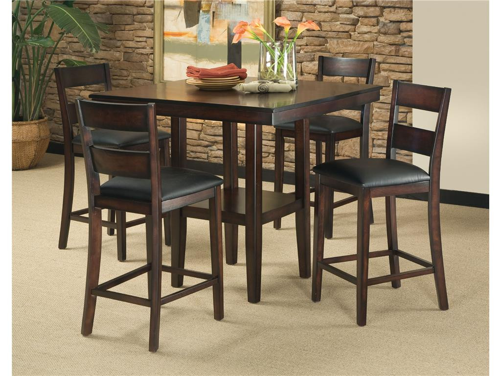 Best ideas about DIY Bar Height Table . Save or Pin Standard furniture dining room sets bar counter height Now.