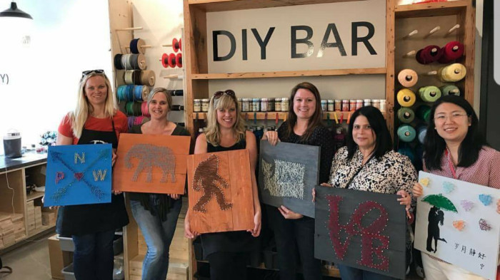 Best ideas about DIY Bar Portland . Save or Pin The DIY Bar Has Booze And Crafts And Is The Greatest Idea Now.