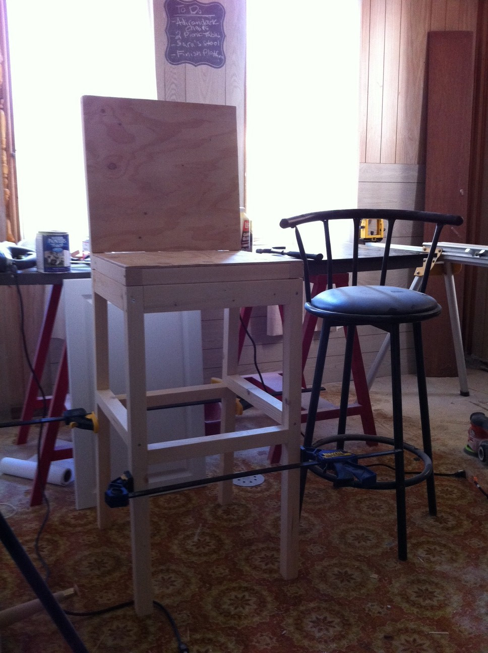 Best ideas about DIY Bar Stools . Save or Pin Ana White Now.