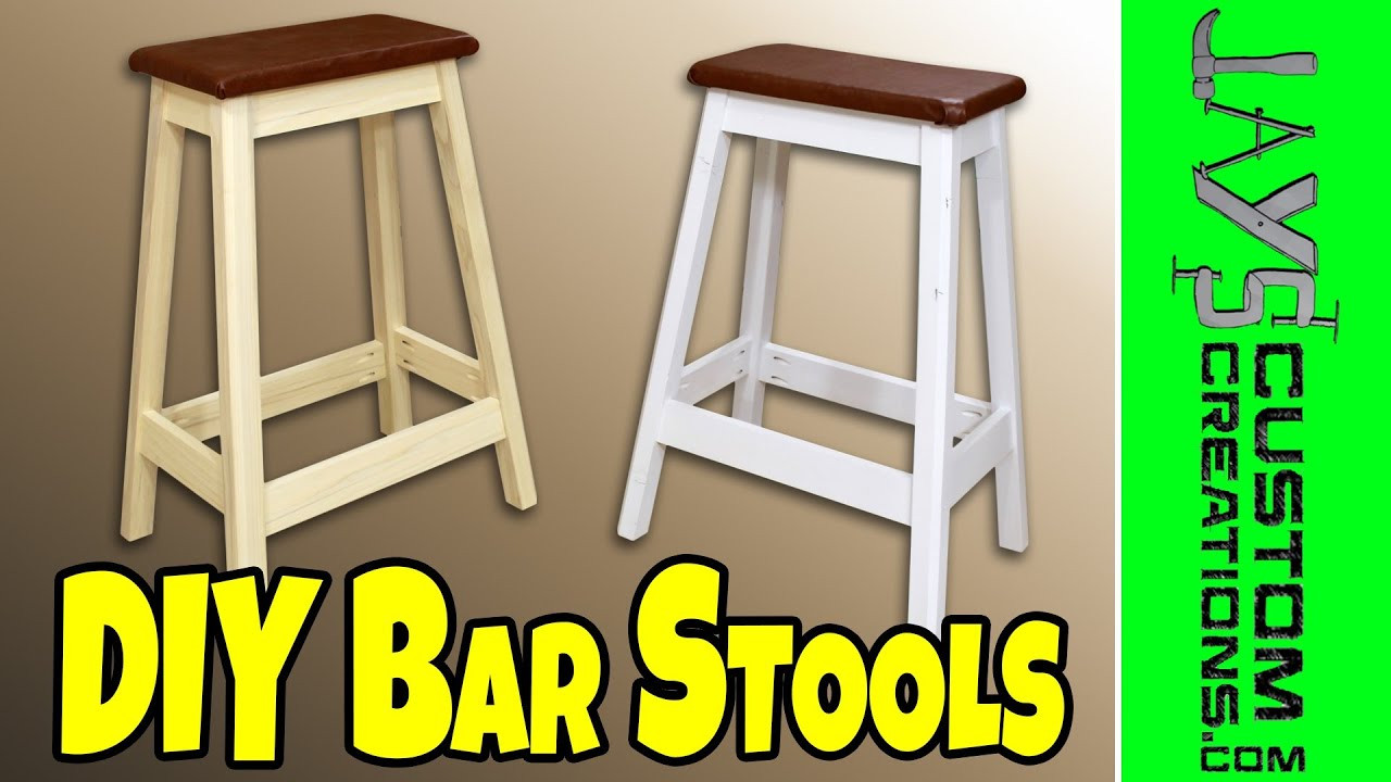 Best ideas about DIY Bar Stools . Save or Pin Easy DIY Bar Stool 130 Now.