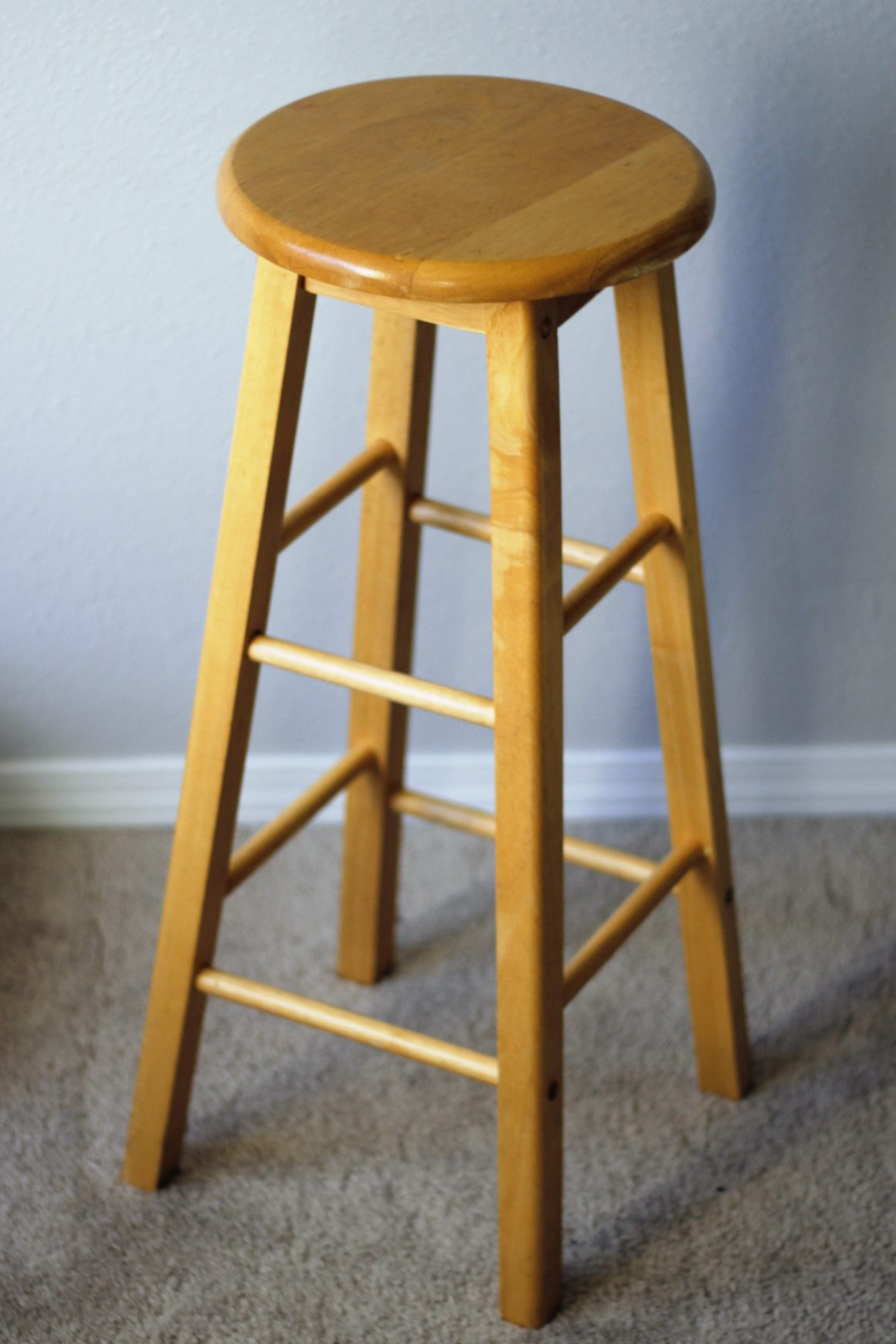 Best ideas about DIY Bar Stools . Save or Pin Easy Bar Stool Makeover Now.