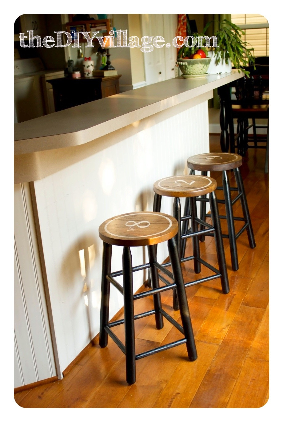 Best ideas about DIY Bar Stools . Save or Pin Vintage Industrial DIY Bar Stools the DIY village Now.