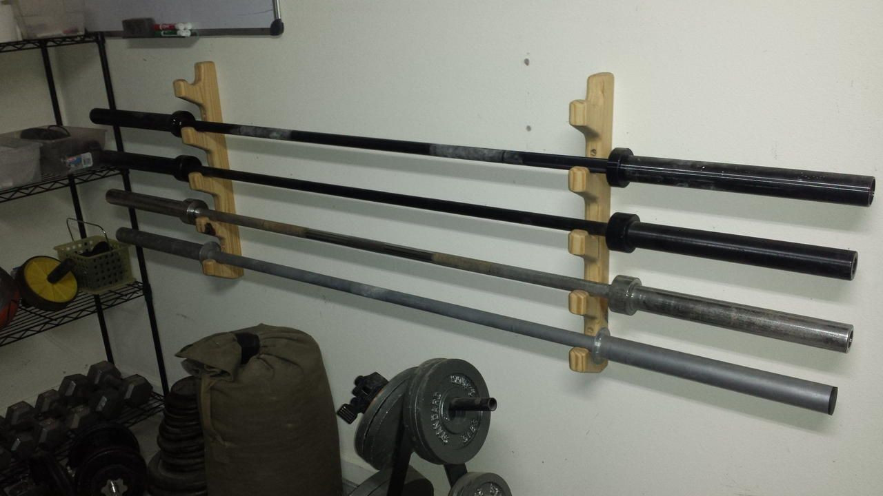 Best ideas about DIY Barbell Rack . Save or Pin diy barbell rack Google Search Now.