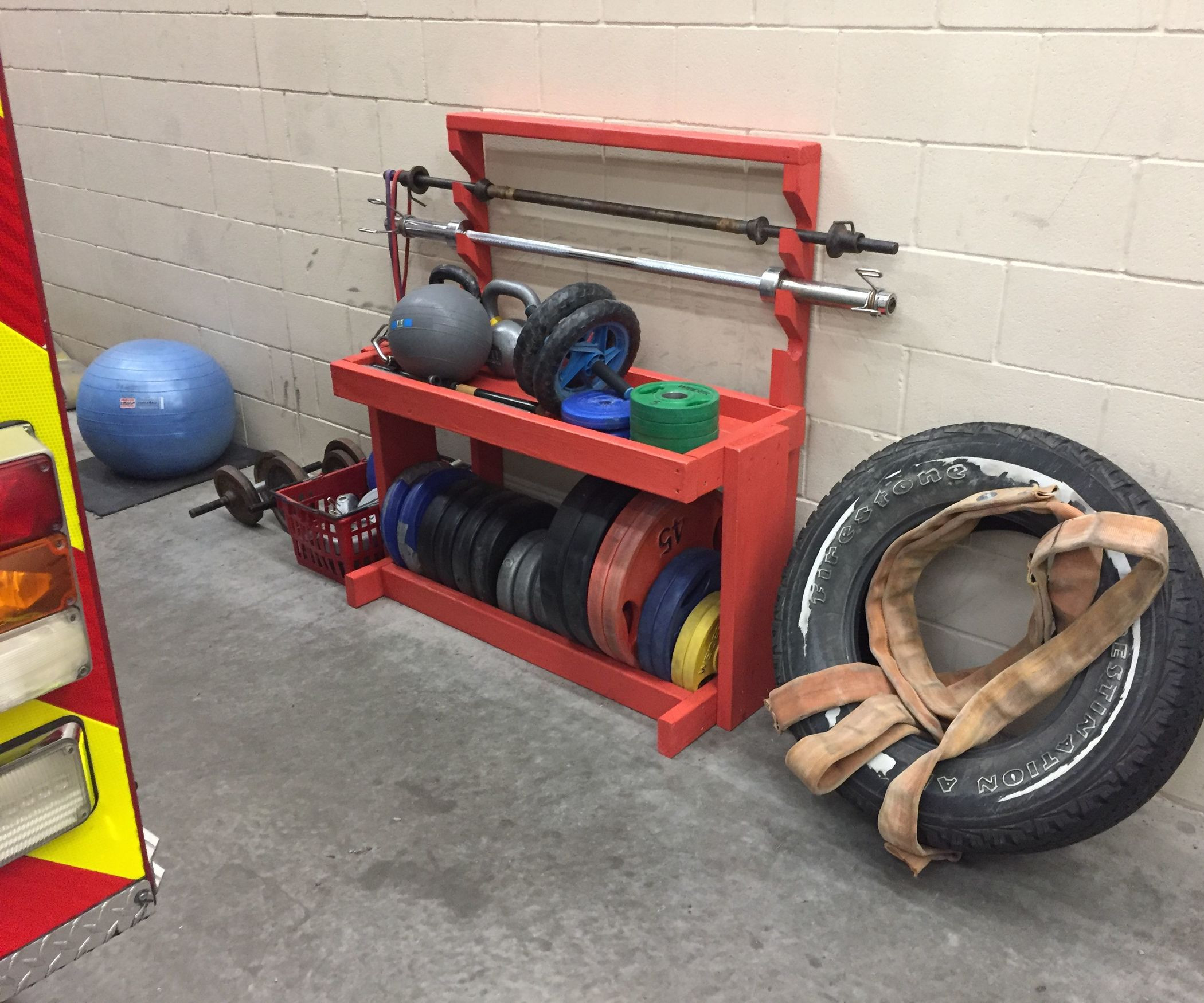 Best ideas about DIY Barbell Rack . Save or Pin DIY Weight and Barbell Storage Rack 4 Steps with Now.