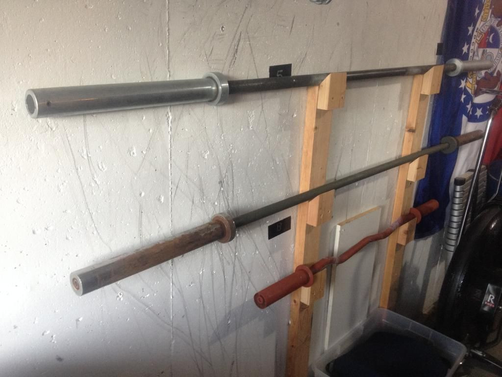 Best ideas about DIY Barbell Rack . Save or Pin wall mount barbell rack Build it Pinterest Now.