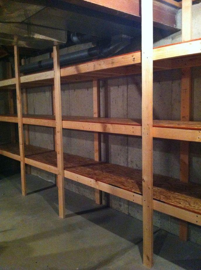 Best ideas about DIY Basement Storage Shelves . Save or Pin DIY Basement Storage Now.