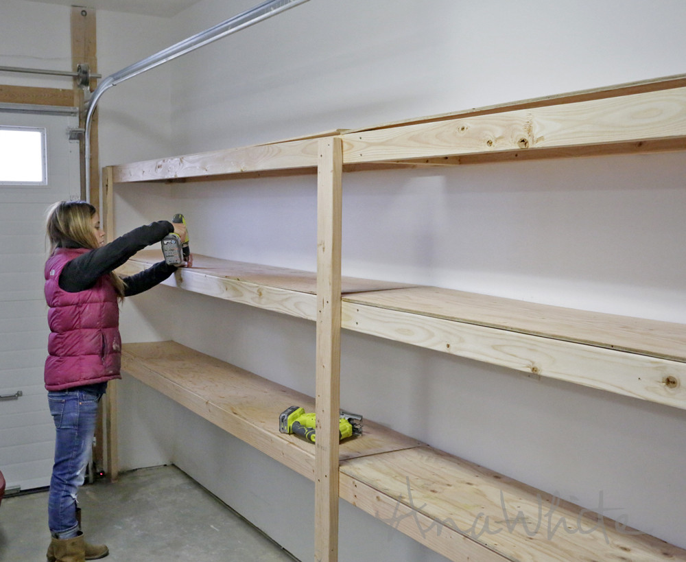 Best ideas about DIY Basement Storage Shelves . Save or Pin Ana White Now.