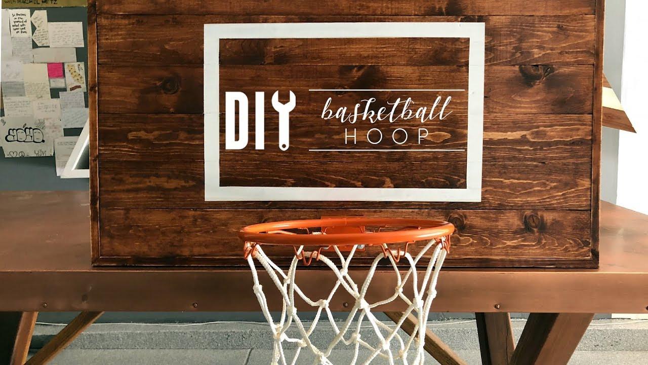 Best ideas about DIY Basketball Hoop . Save or Pin DIY Rustic Basketball Hoop Now.