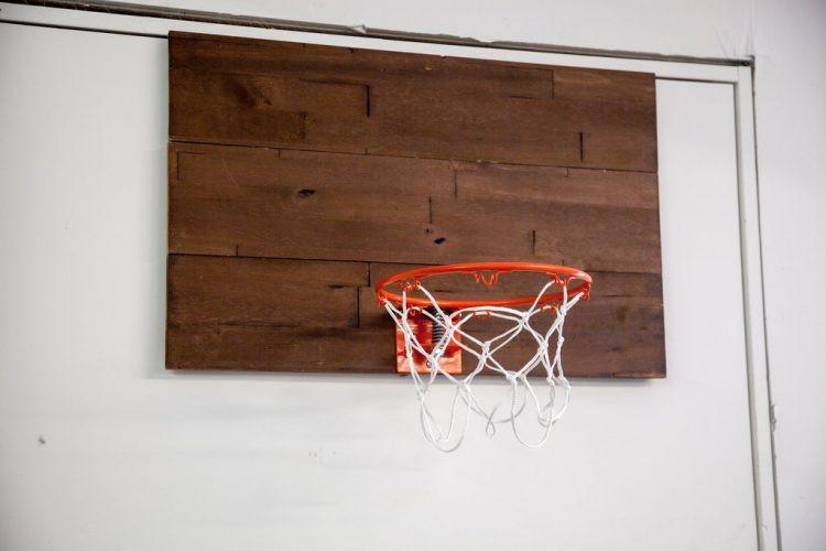 Best ideas about DIY Basketball Hoop . Save or Pin DIY Rustic Indoor Basketball Hoop mywoodwall Now.