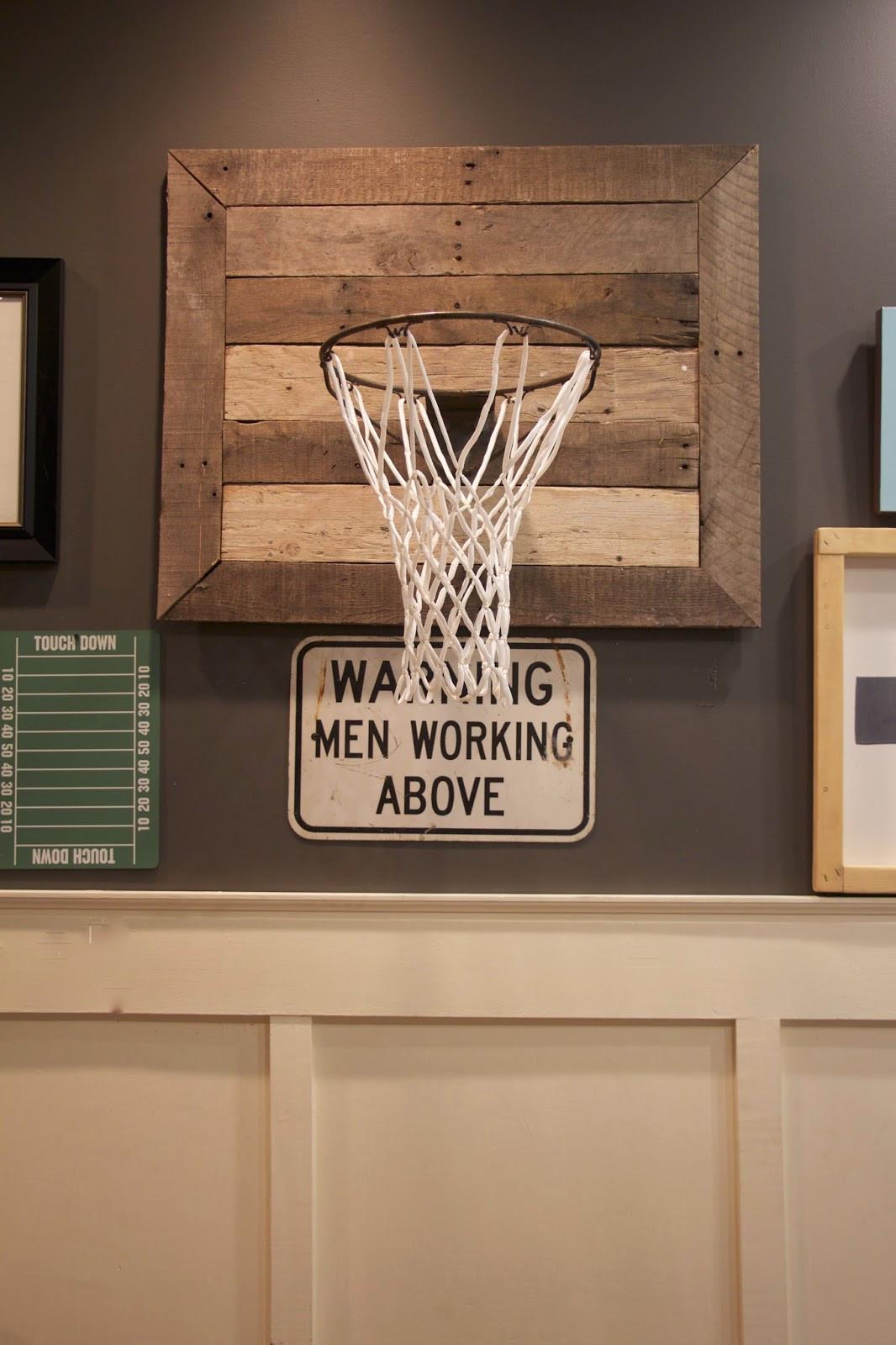 Best ideas about DIY Basketball Hoop . Save or Pin My Sweet Savannah thrifty Thursday diy basketball hoop Now.