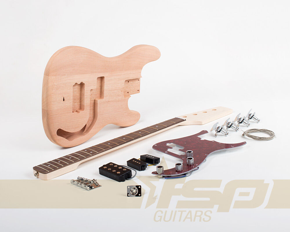 Best ideas about DIY Bass Guitar Kits . Save or Pin DIY Electric Bass Guitar Builder Kit Project Mahogany Body Now.