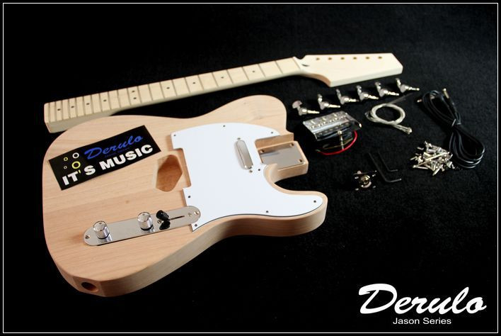 Best ideas about DIY Bass Guitar Kits . Save or Pin DIY Electric Guitar Kit Bolt Neck Bass Wood Unfinished Now.
