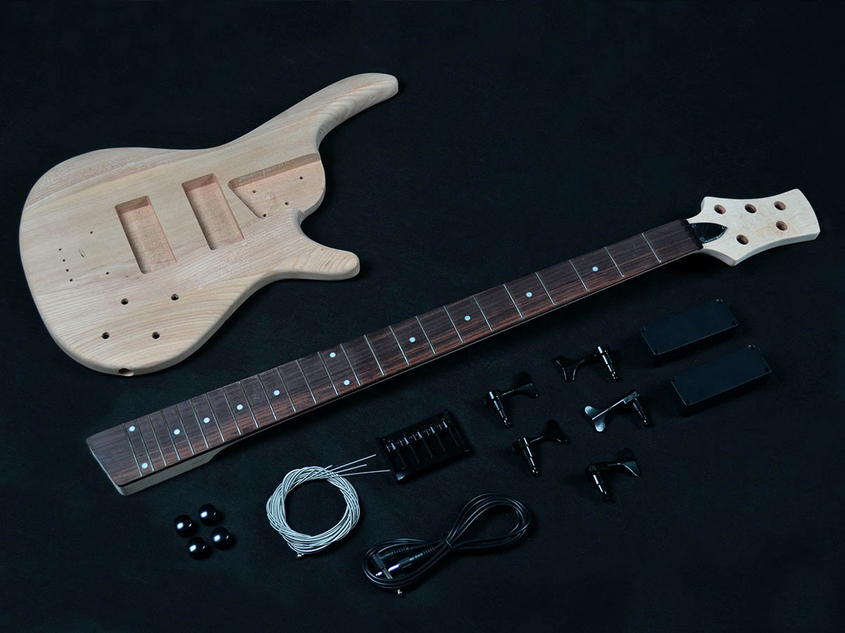 Best ideas about DIY Bass Guitar Kits . Save or Pin DIY Guitar Kits Build your own electric guitar kit huge Now.