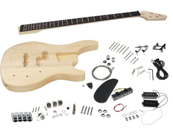 Best ideas about DIY Bass Guitar Kits . Save or Pin Solo SR Style DIY Bass Guitar Kit Basswood Body PJ Pickups Now.
