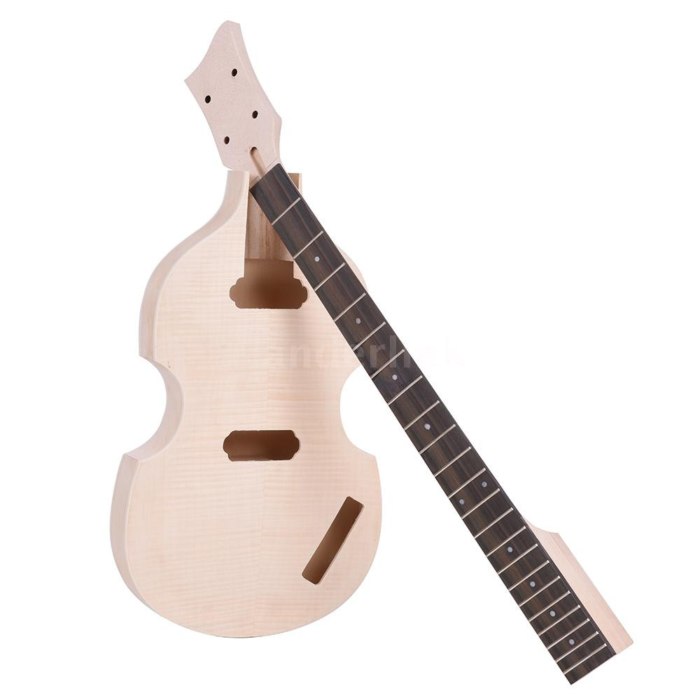 Best ideas about DIY Bass Guitar Kits . Save or Pin Unfinished DIY Electric Bass Guitar Kit Basswood Body Now.