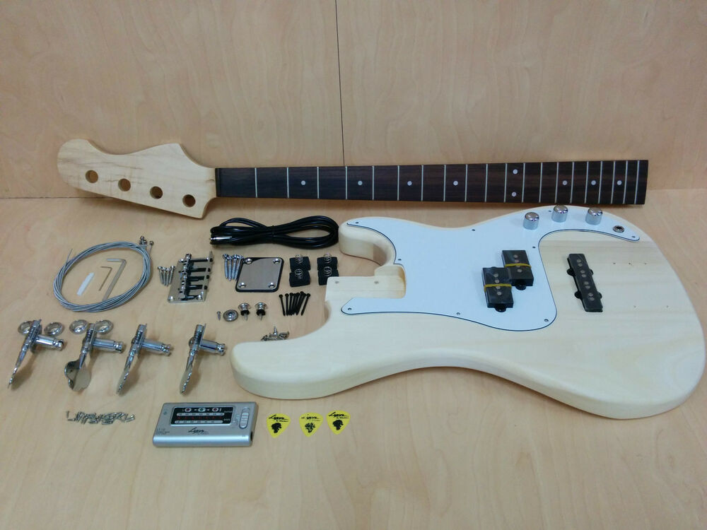 Best ideas about DIY Bass Guitar Kits . Save or Pin Electric Bass Guitar DIY Kits EB 303DIY w Free Digital Now.