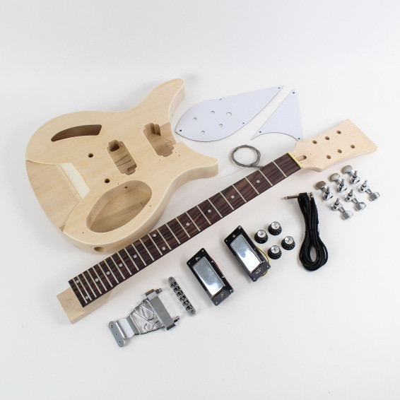 Best ideas about DIY Bass Guitar Kits . Save or Pin Rickenbacker Style Semi Hollow DIY Guitars Now.
