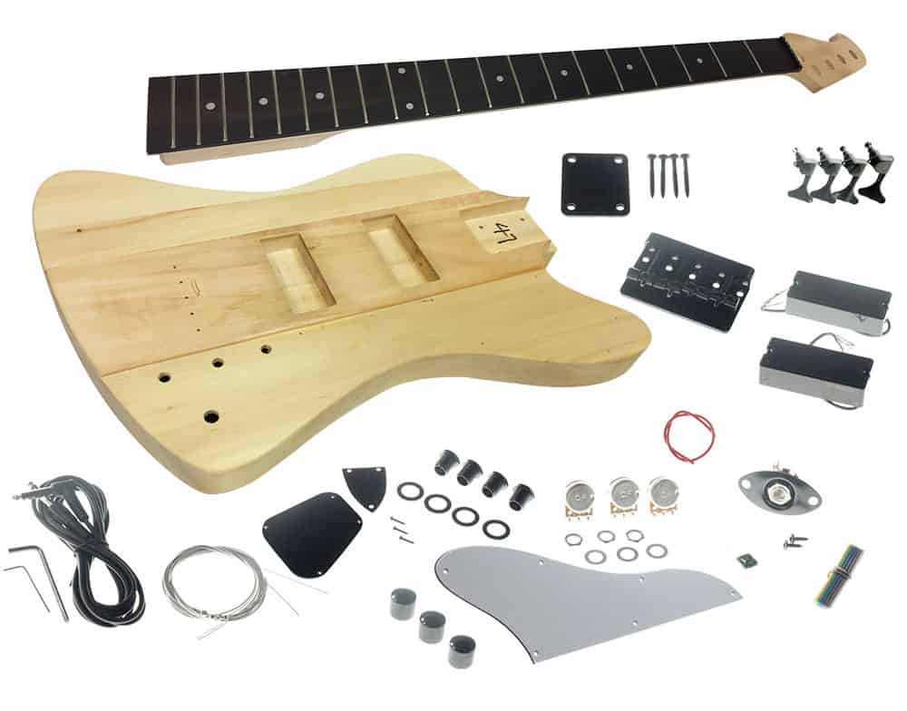 Best ideas about DIY Bass Guitar Kits . Save or Pin Solo TB Style DIY Bass Guitar Kit Basswood Body Maple Now.