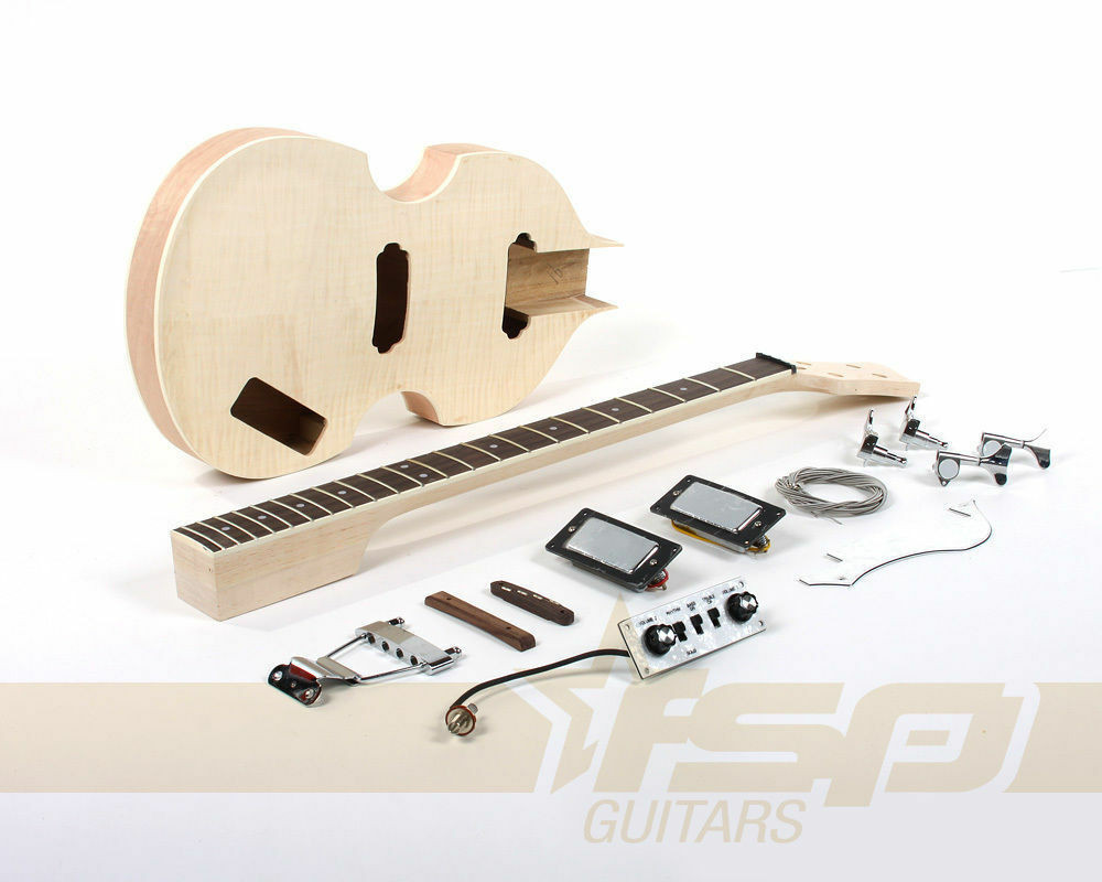 Best ideas about DIY Bass Guitar Kits . Save or Pin Semi Hollow Body DIY Electric Bass Guitar Builder Kit with Now.