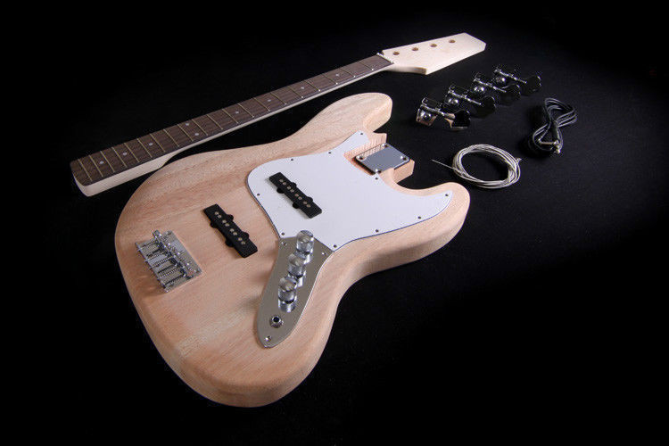 Best ideas about DIY Bass Guitar Kits . Save or Pin DIY Electric Bass Guitar Kit Project Bolt Solid Now.