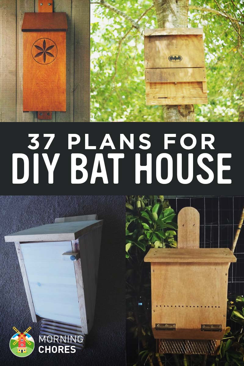 Best ideas about DIY Bat House . Save or Pin 37 Free DIY Bat House Plans that Will Attract the Natural Now.