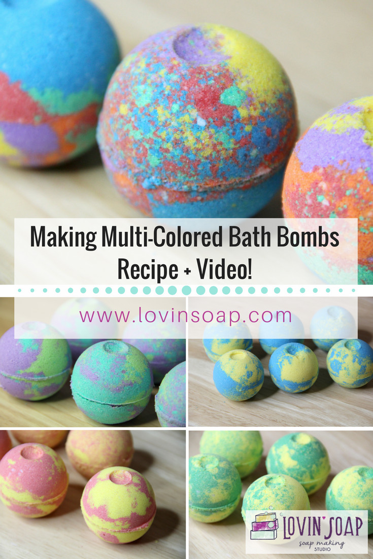 Best ideas about DIY Bath Bomb . Save or Pin Making Multi Colored Bath Bombs DIY Bath Fizzies Video Now.