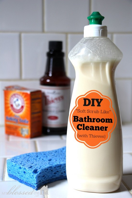 Best ideas about DIY Bathroom Cleaner . Save or Pin DIY Non Toxic Bathroom Cleaner Detox Your Home Series Now.