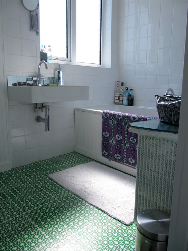 Best ideas about DIY Bathroom Floor . Save or Pin 10 Unique DIY Flooring Ideas For Your Home Now.