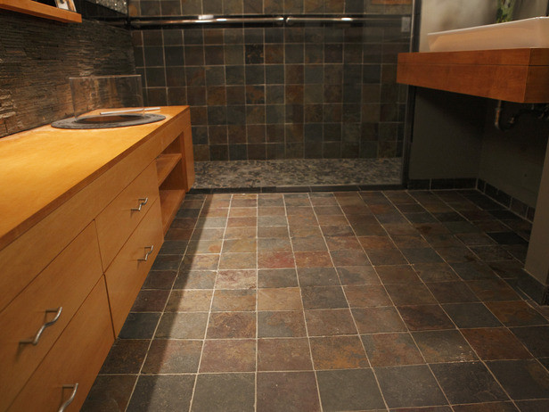 Best ideas about DIY Bathroom Floor . Save or Pin Beautiful Bathroom Floors from DIY Network Now.