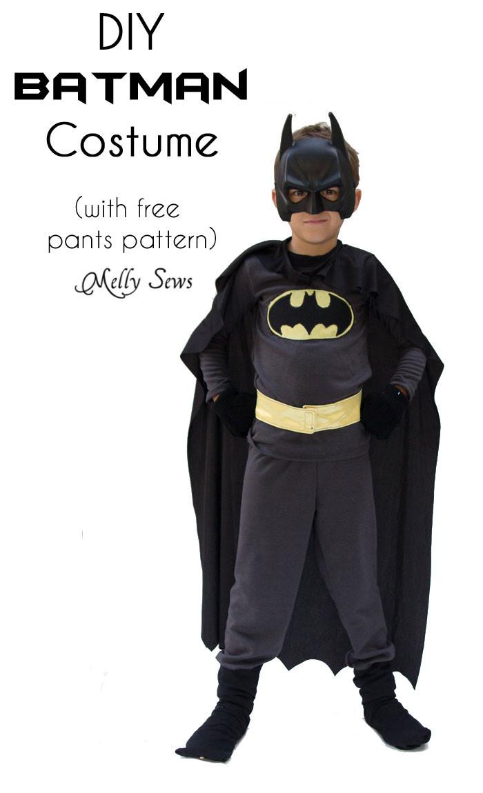 Best ideas about DIY Batman Costume . Save or Pin DIY Batman Costume Melly Sews Now.