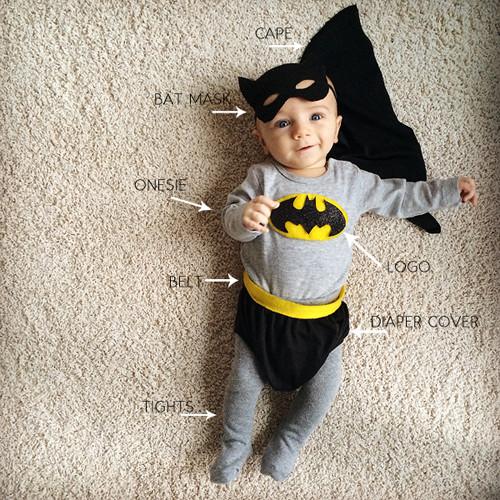 Best ideas about DIY Batman Costume . Save or Pin diy batman and batgirl costume Now.