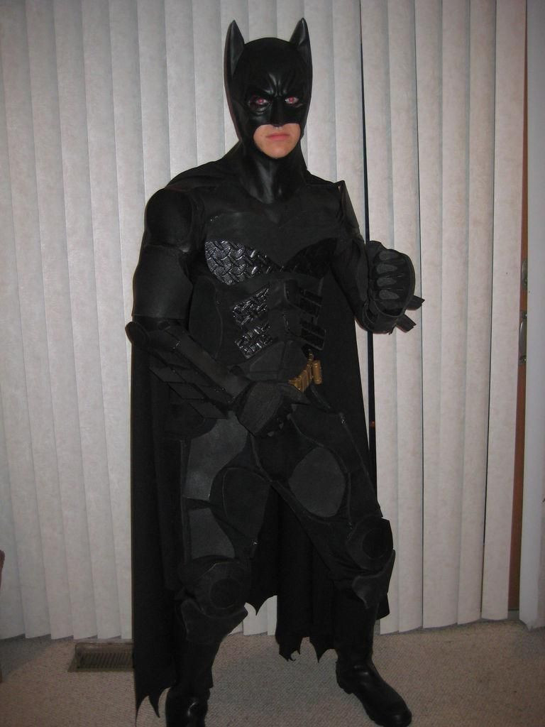 Best ideas about DIY Batman Costume . Save or Pin DIY Superhero Costume DIY Batman Costume The Dark Now.