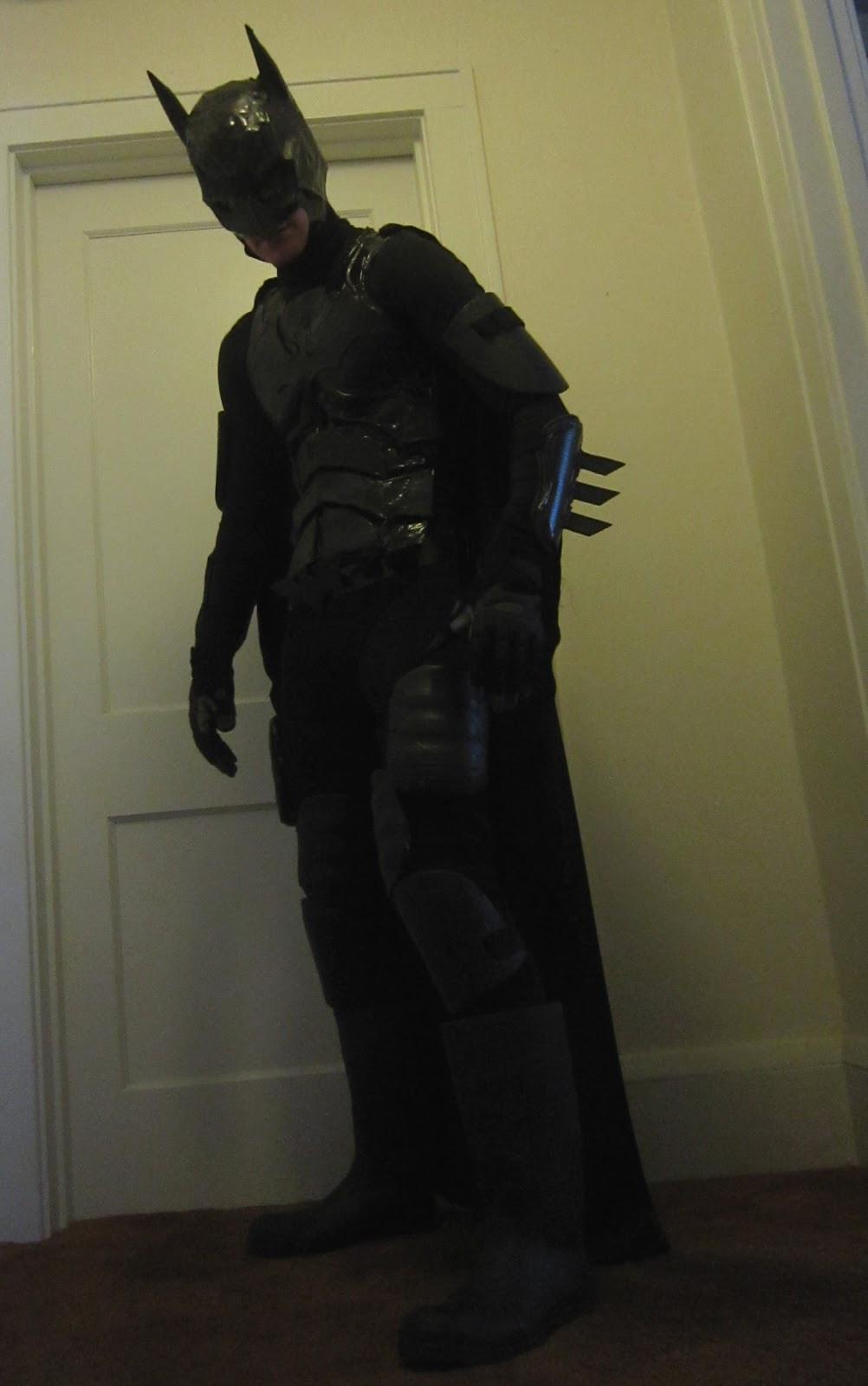 Best ideas about DIY Batman Costume . Save or Pin Chuck Does Art DIY Batman Costume Now.