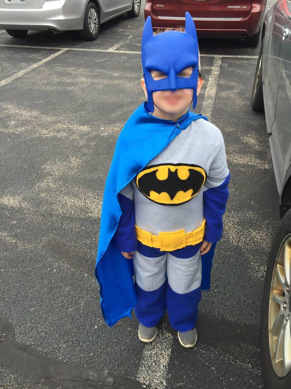 Best ideas about DIY Batman Costume . Save or Pin DIY Batman Costume – Mary Martha Mama Now.