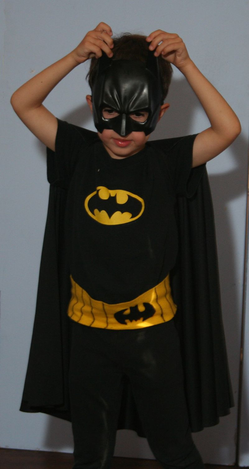 Best ideas about DIY Batman Costume . Save or Pin Batman costume on kid o info Cloths Pinterest Now.