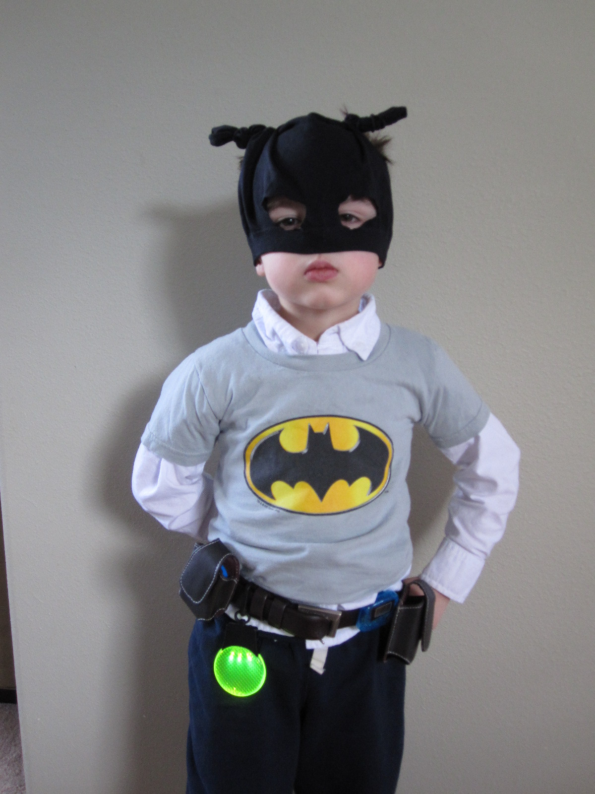 Best ideas about DIY Batman Costume . Save or Pin DIY Batman Belt and Mask No Time For Flash Cards Now.