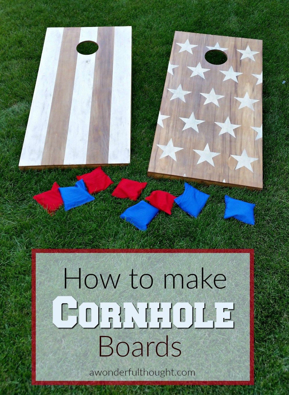 Best ideas about DIY Bean Bag Toss . Save or Pin DIY Cornhole Boards Now.