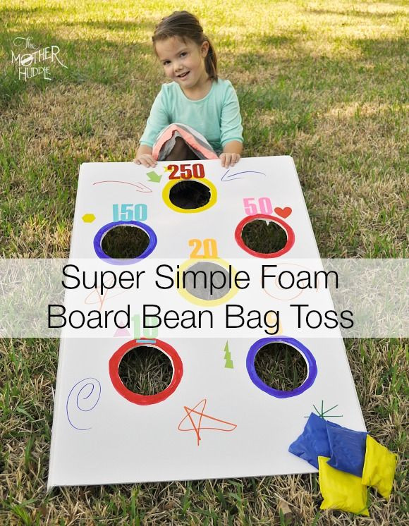 Best ideas about DIY Bean Bag Toss . Save or Pin Super Simple DIY Bean Bag Toss The Mother Huddle Now.