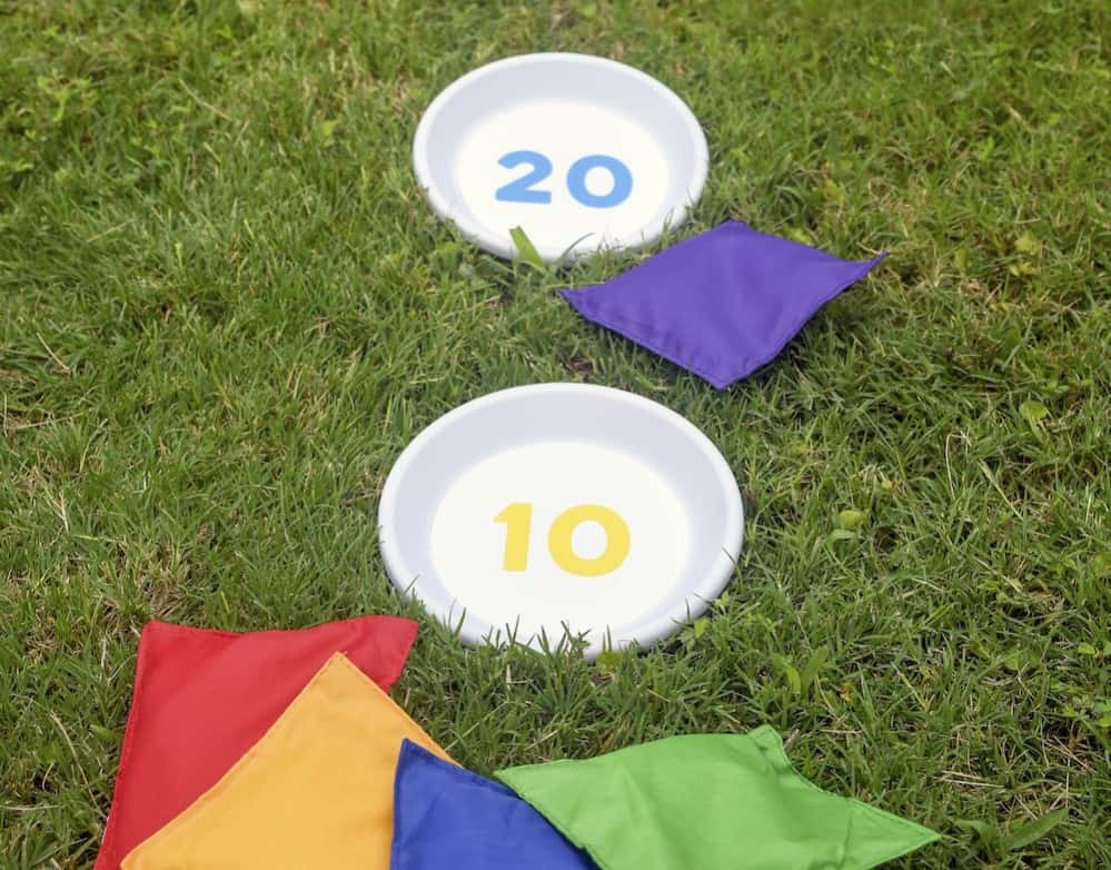Best ideas about DIY Bean Bag Toss . Save or Pin Outdoor games DIY bean bag toss Mod Podge Rocks Now.
