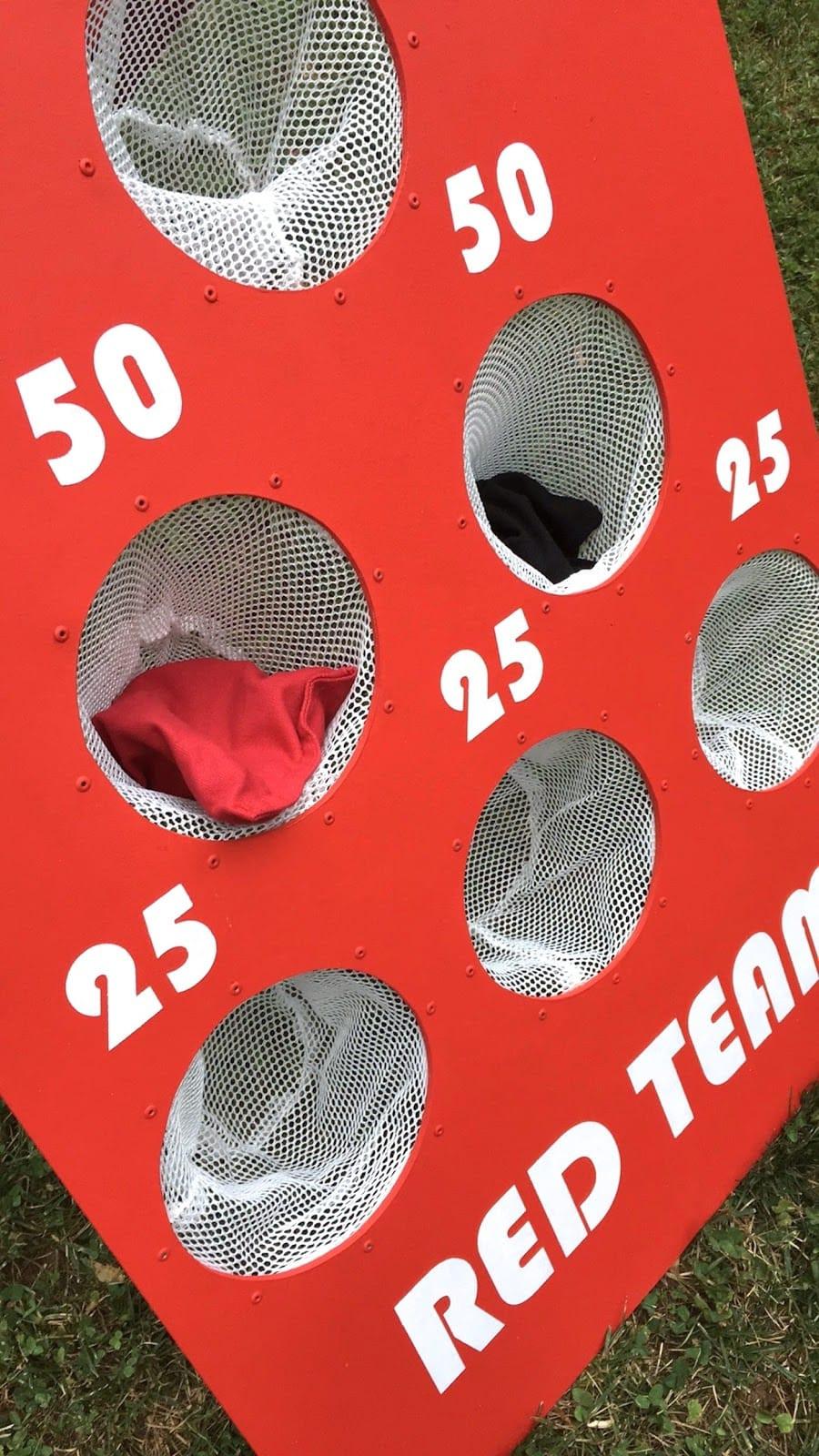 Best ideas about DIY Bean Bag Toss . Save or Pin How to Make a DIY Backyard Bean Bag Toss Game Now.