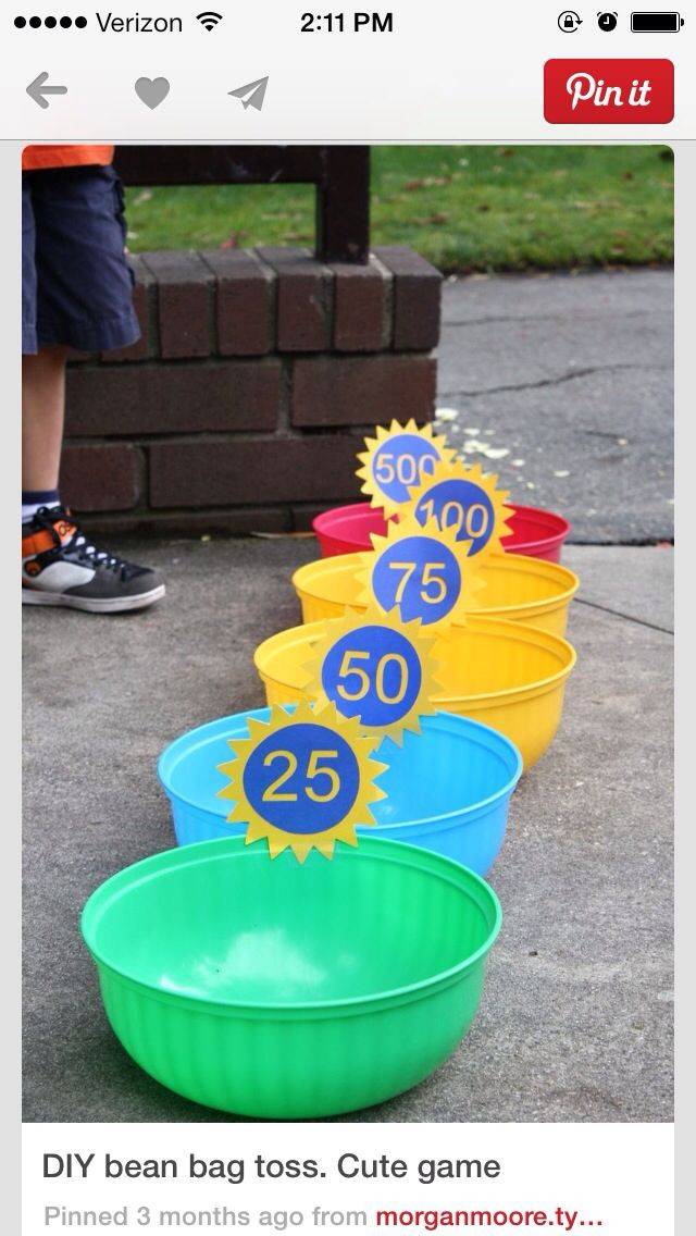 Best ideas about DIY Bean Bag Toss . Save or Pin 32 Fun DIY Backyard Games To Play for kids & adults Now.