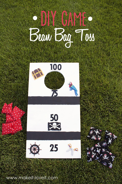 Best ideas about DIY Bean Bag Toss . Save or Pin DIY Bean Bag Toss Now.