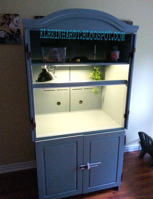 Best ideas about DIY Bearded Dragon Cage . Save or Pin Armoire Bearded Dragon Cage petdiys Now.