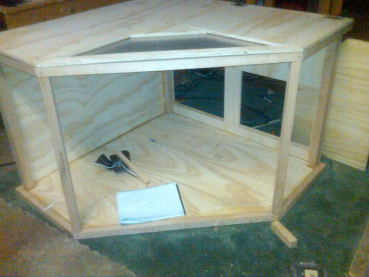 Best ideas about DIY Bearded Dragon Cage . Save or Pin Bearded Dragon org • View topic custom corner viv is Now.